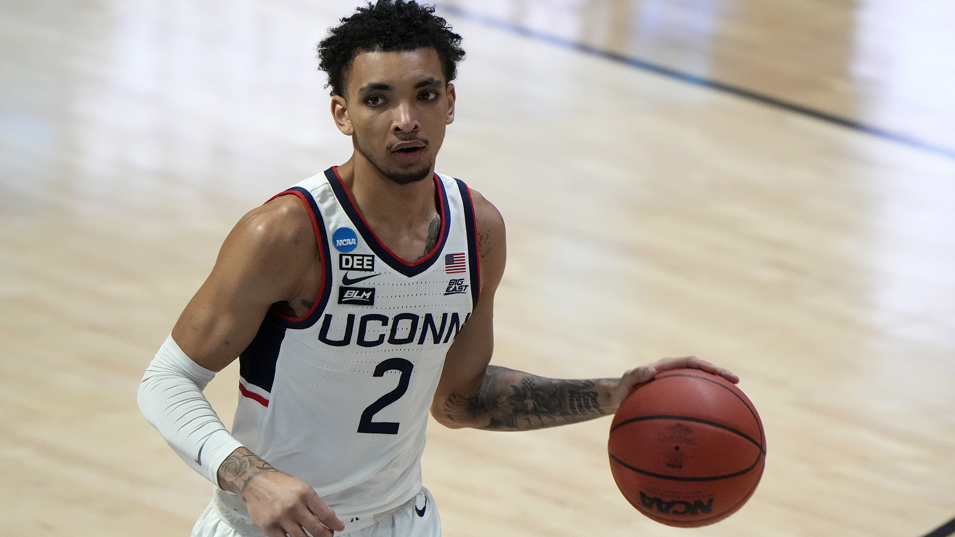 UConn guard James Bouknight says he'll enter NBA draft