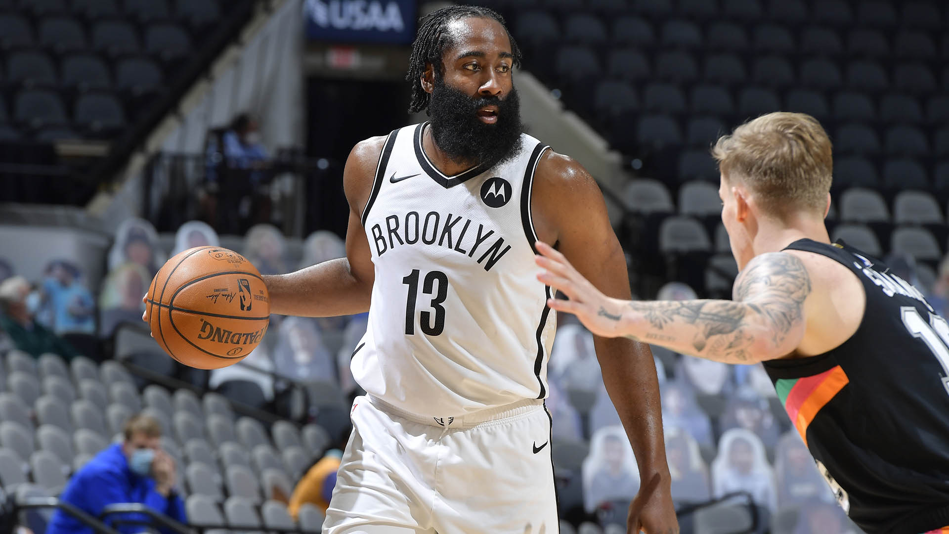 Harden directing Nets' success with ease