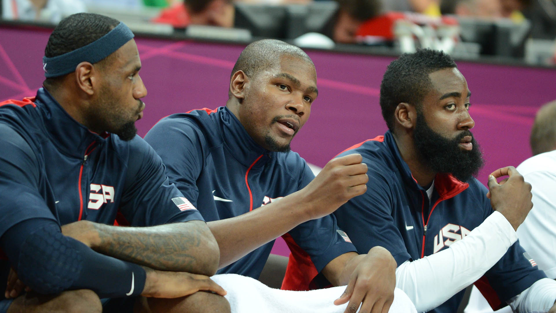 USA Basketball announces 57 finalists for U.S. Olympic Men's Team