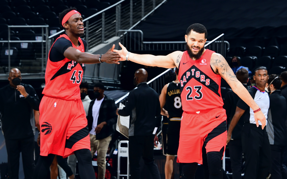 Raptors will be short-handed when they return to floor