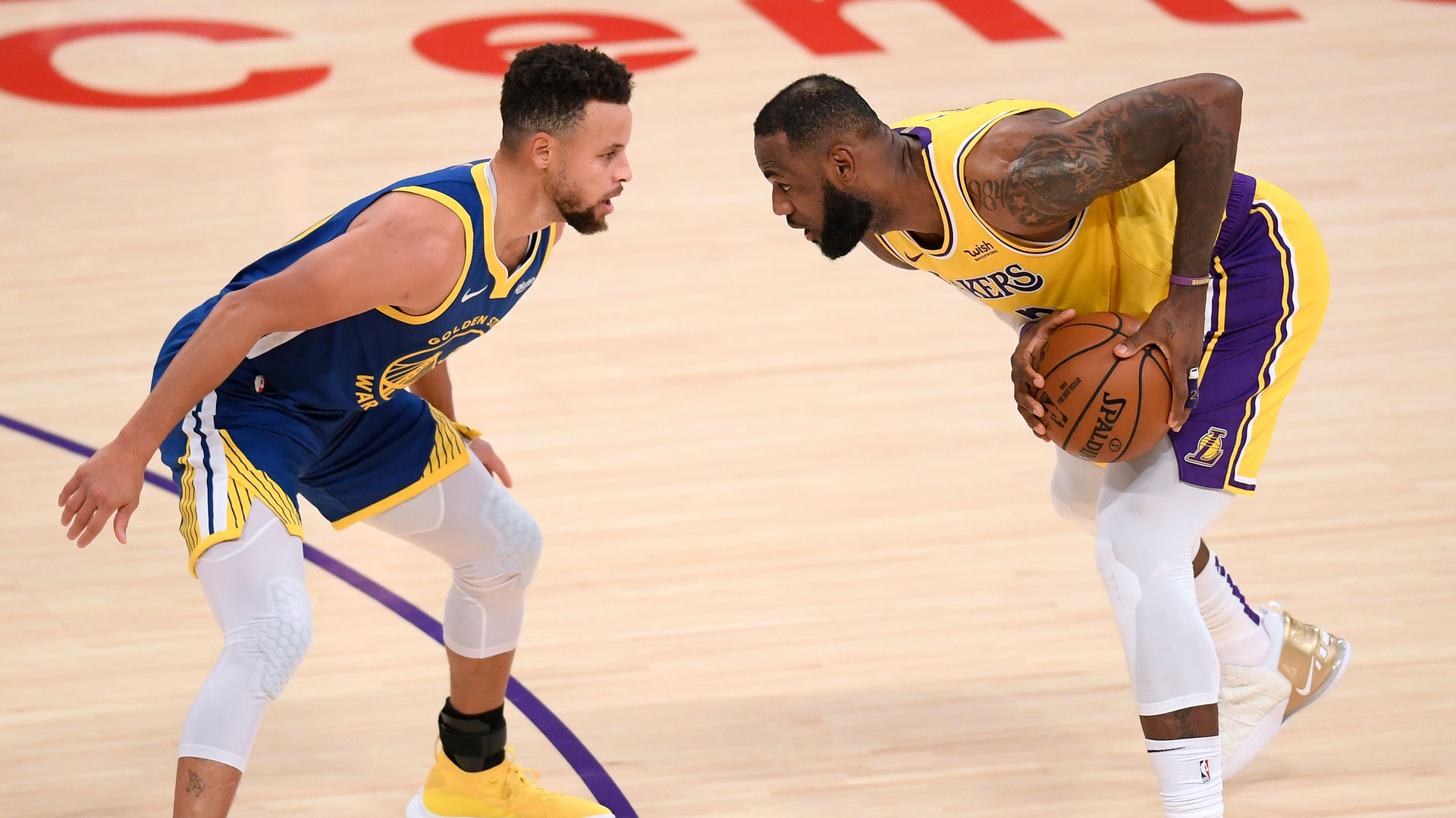 LeBron James, Stephen Curry to face off in Play-In Tournament