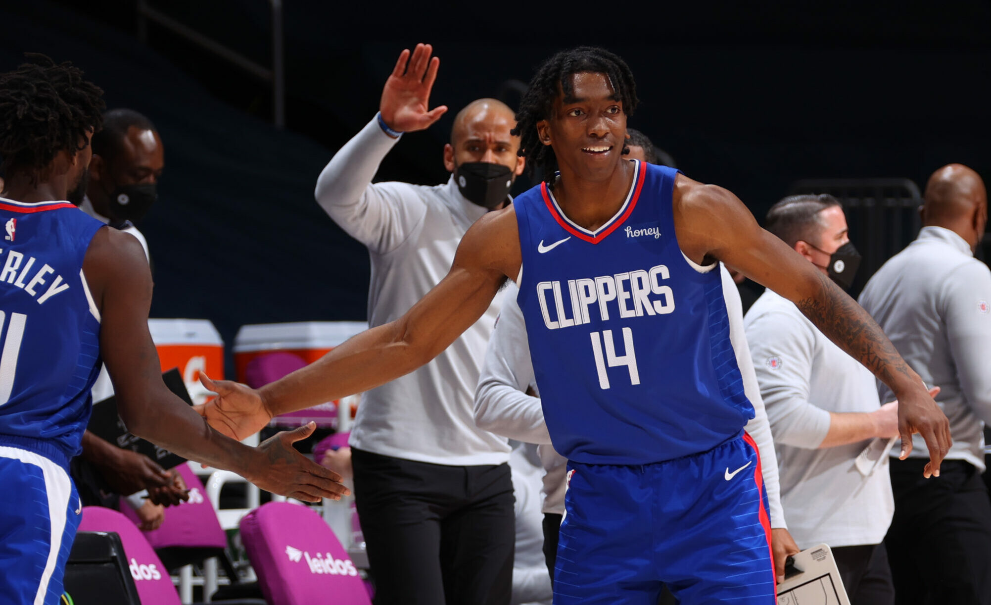 Clippers find their spark with Terance Mann and Rajon Rondo