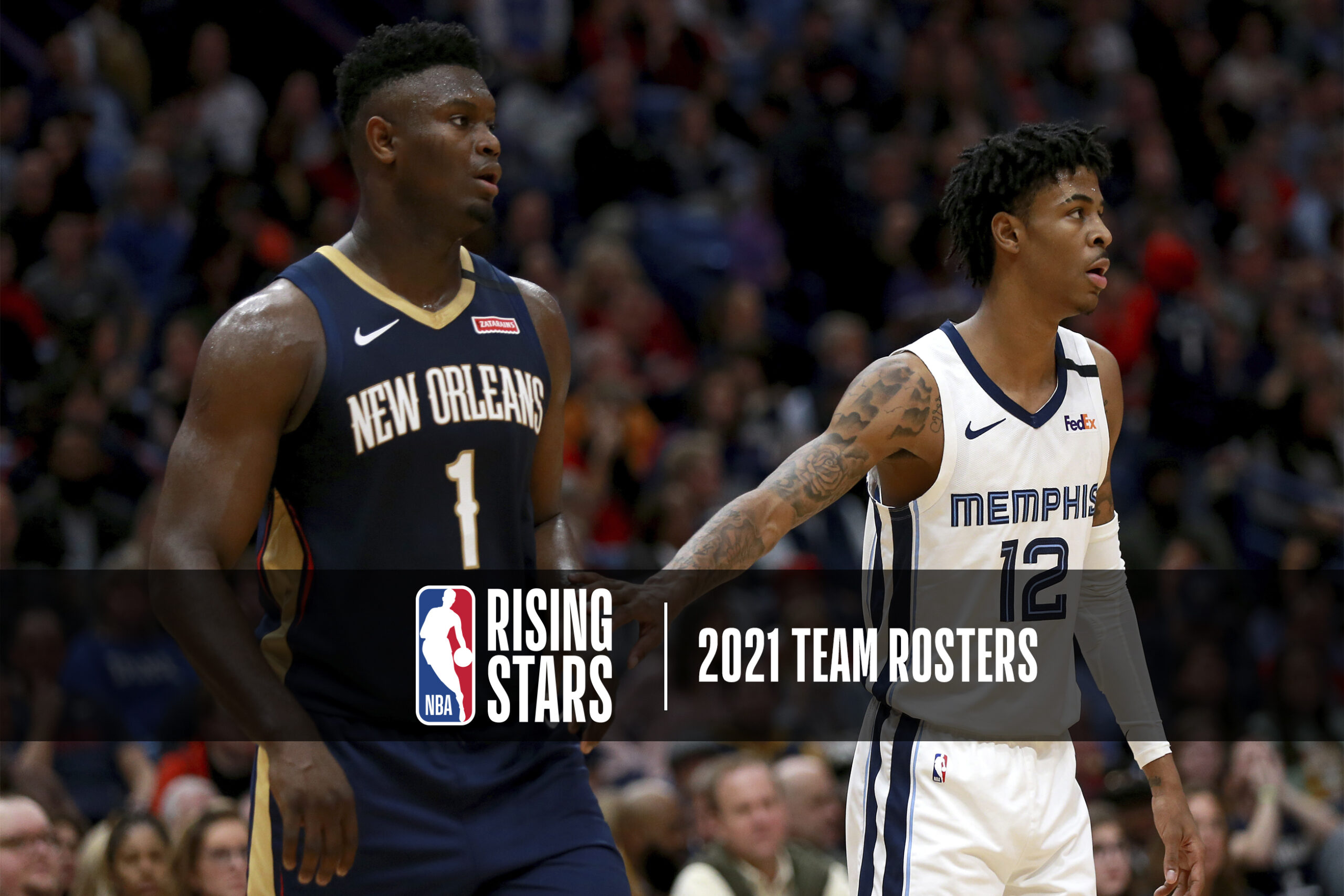 Zion Williamson, Ja Morant lead 2021 Rising Stars roster