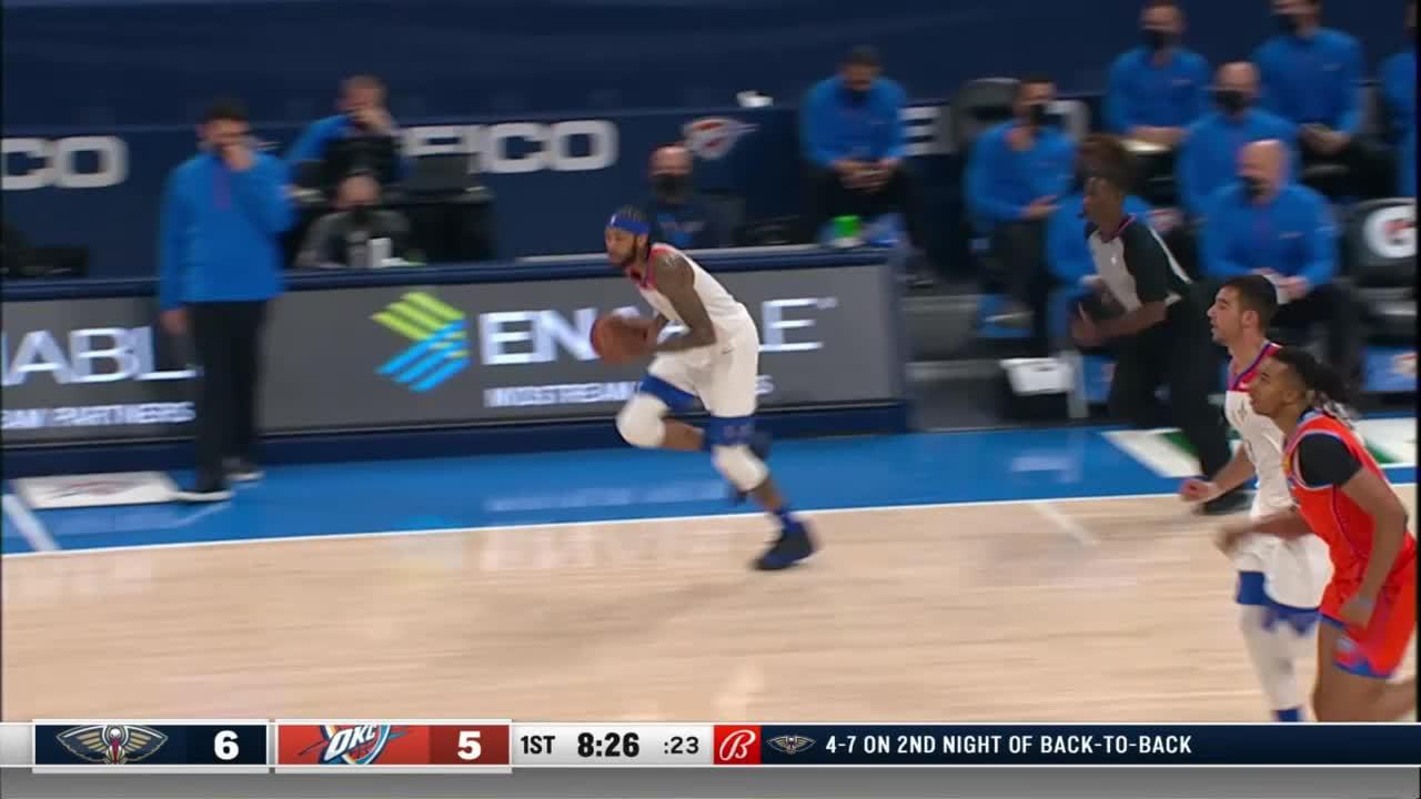 New Orleans Pelicans highlights vs. Oklahoma City Thunder