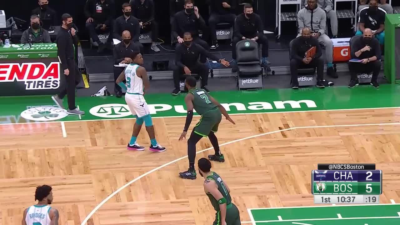 Charlotte Hornets Highlights vs. Boston Celtics