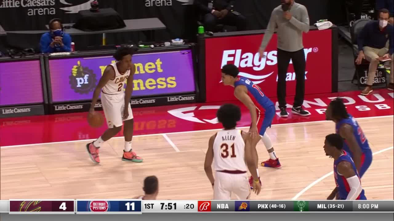 Collin Sexton (28 points) Highlights vs. Detroit Pistons
