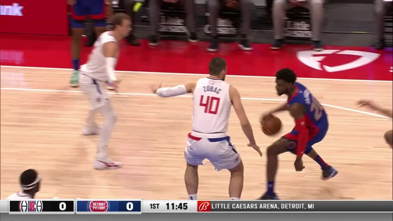 Jerami Grant (28 points) Highlights vs. LA Clippers