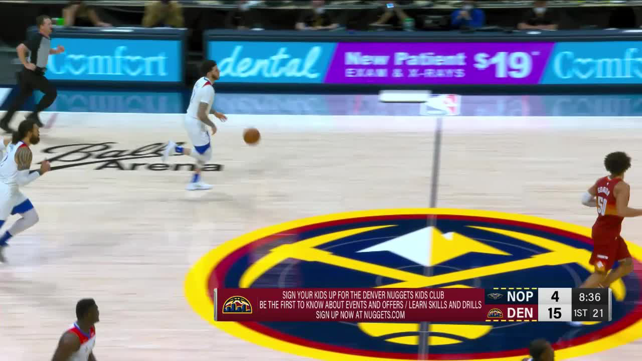 Pelicans Stat Leader Highlights: Lonzo Ball gets triple-double vs. Denver Nuggets