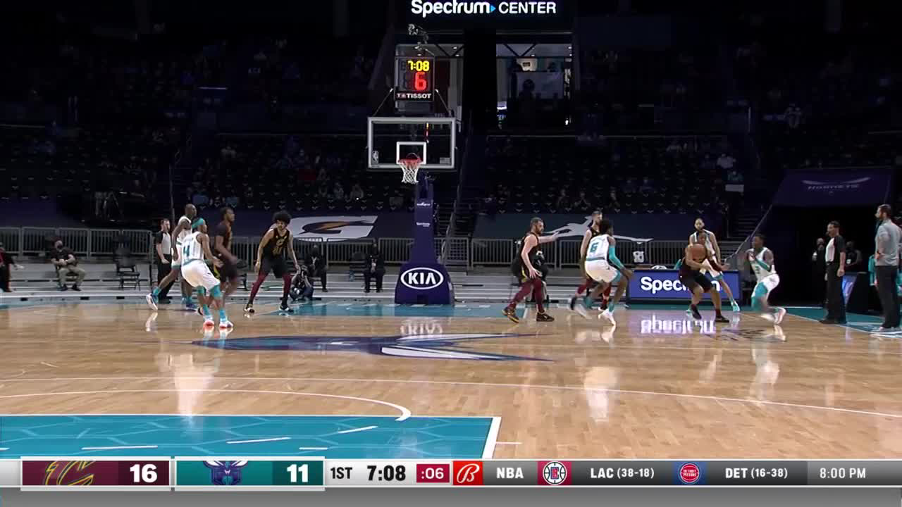 Charlotte Hornets Highlights vs. Cleveland Cavaliers