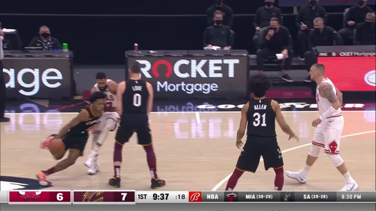 Collin Sexton (30 points) Highlights vs. Chicago Bulls
