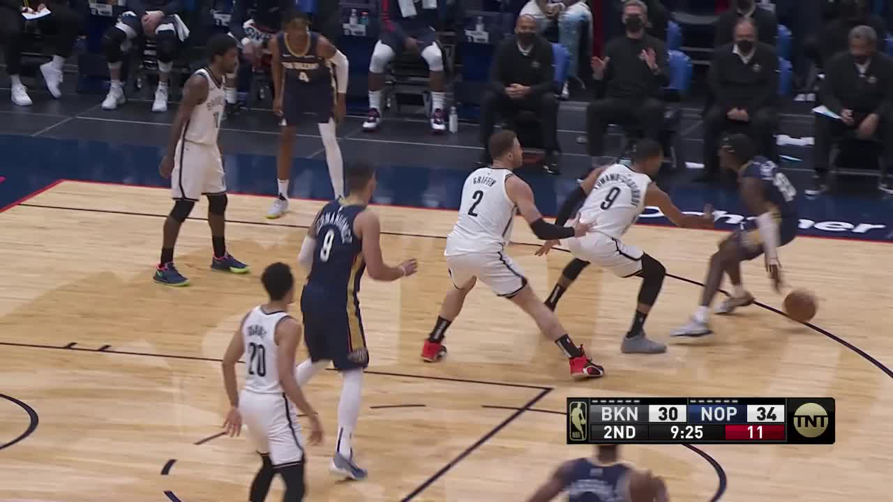 New Orleans Pelicans Highlights vs. Brooklyn Nets 4-20-21