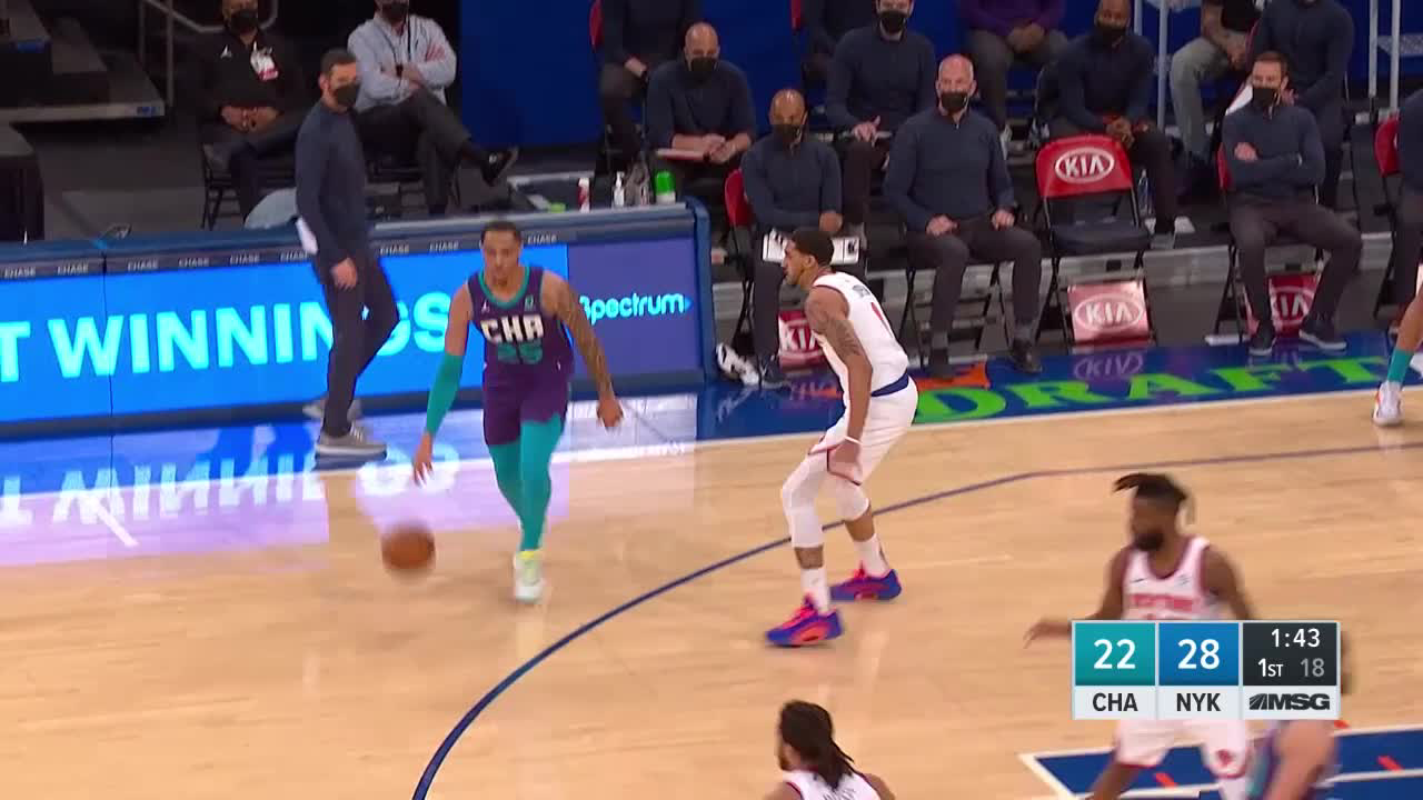 Charlotte Hornets Highlights vs. New York Knicks