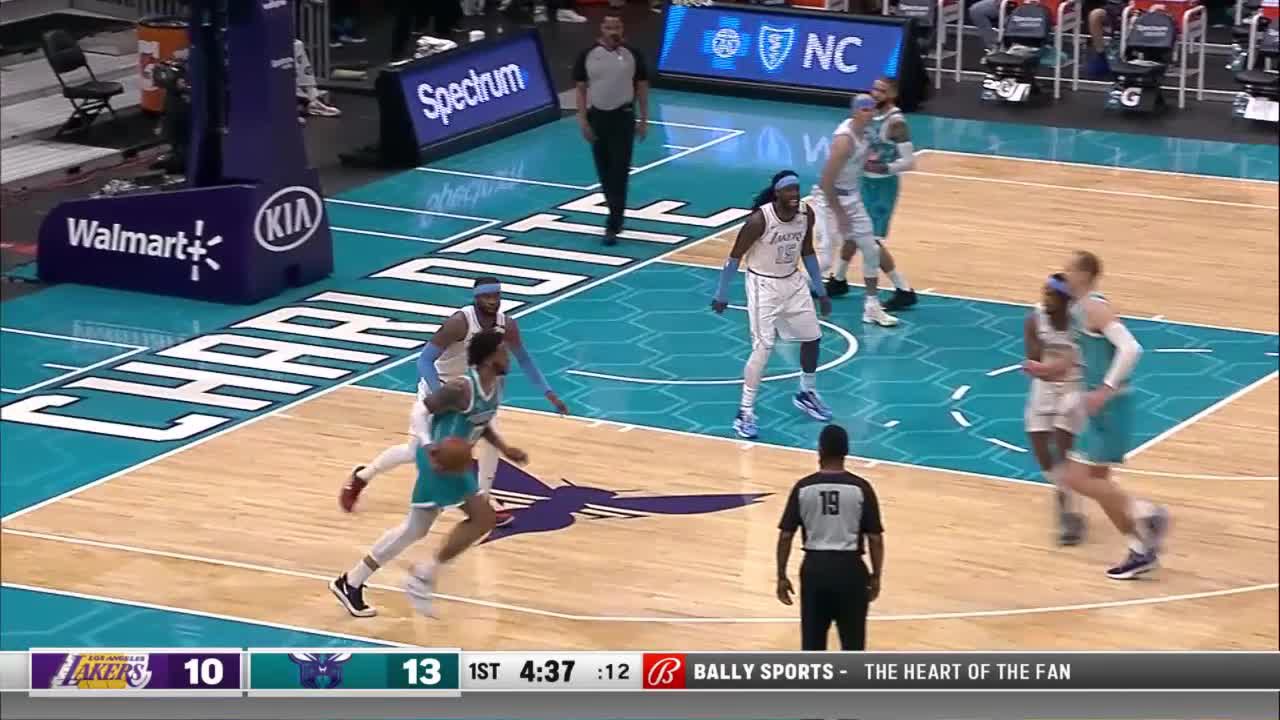 Charlotte Hornets Highlights vs. Los Angeles Lakers