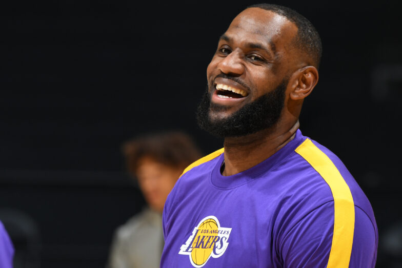 - GettyImages 1230607050 784x523 - LeBron James introduced in new trailer for 'Space Jam: A New Legacy'