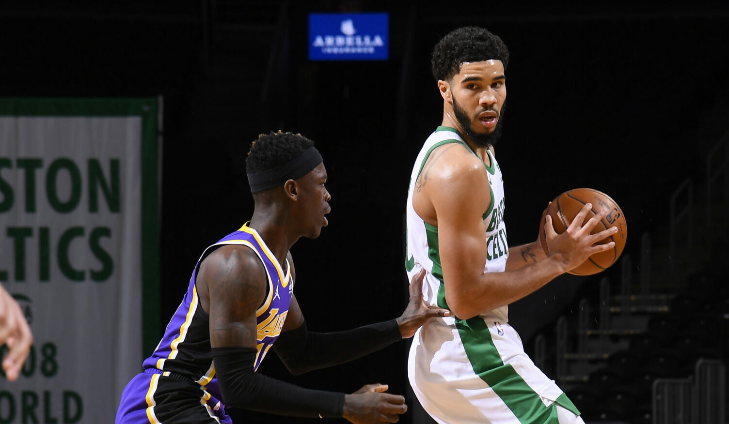 Tatum, Celtics look to stay hot vs. Lakers