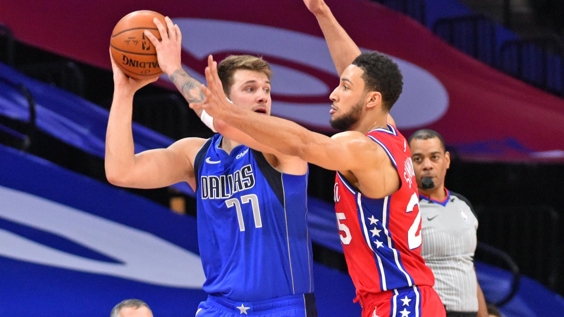 Stars collide as Mavericks host East-leading Sixers