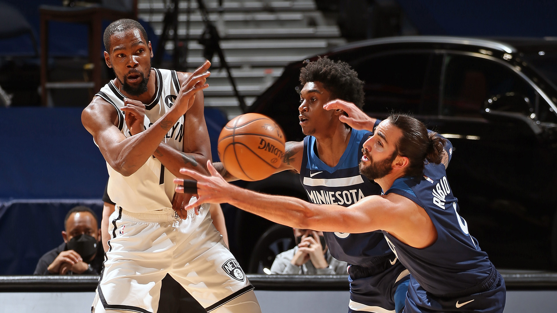 Durant, Nets take down Timberwolves