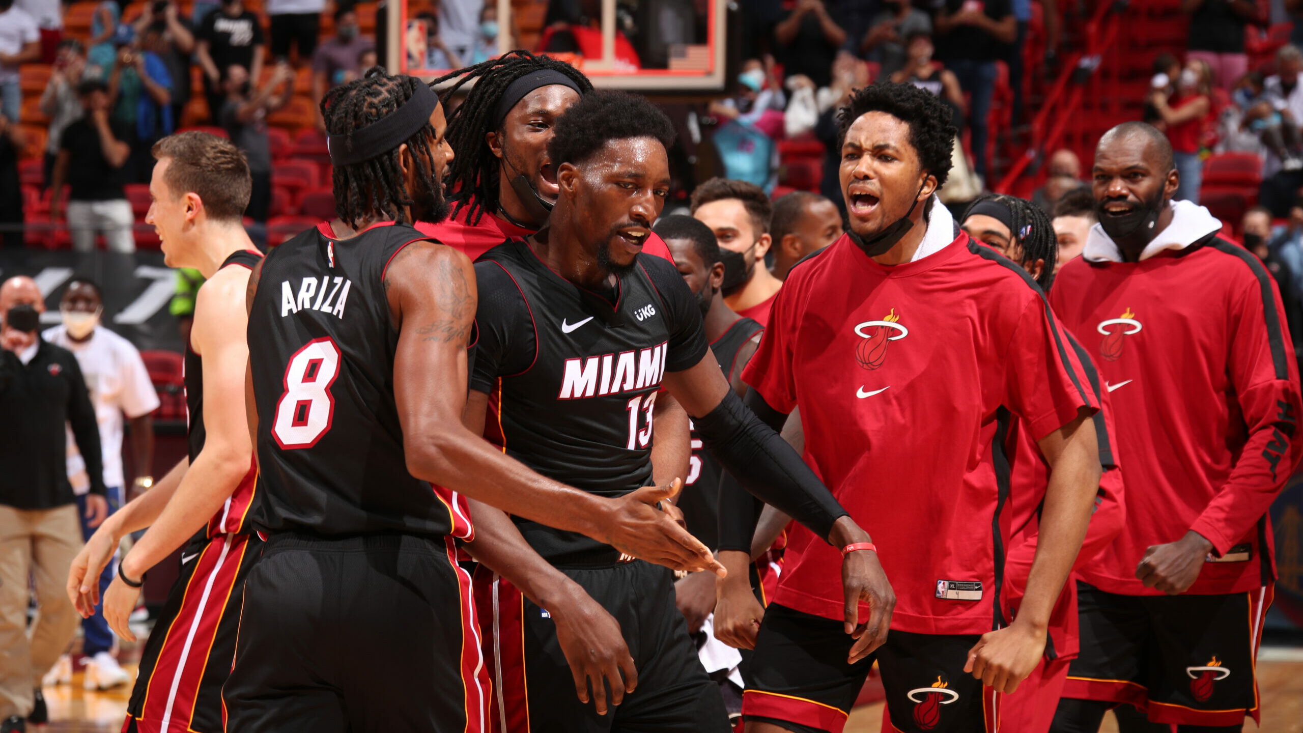 Adebayo drills buzzer-beater as Heat outlast Nets