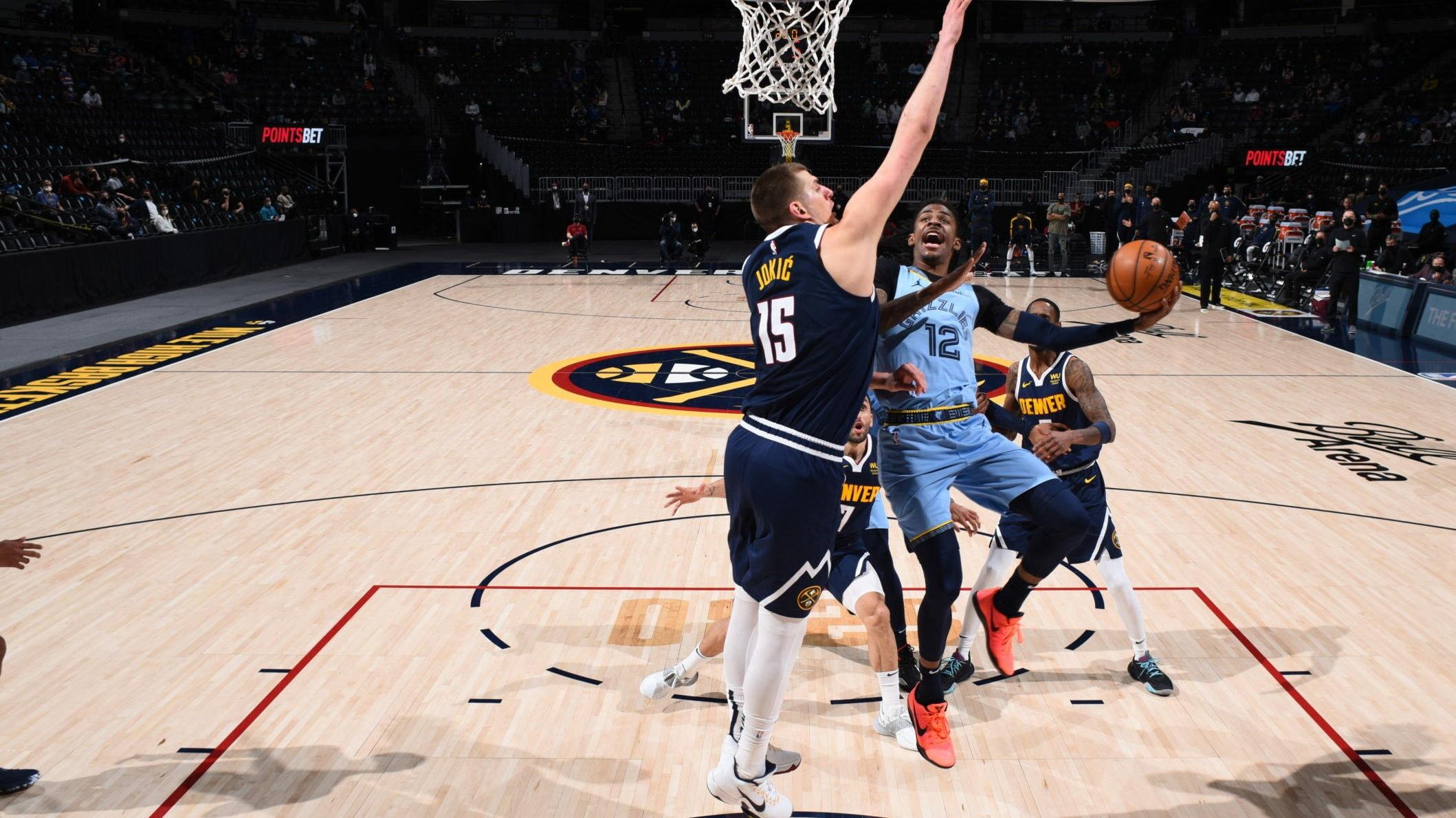 Jokic scores 47, helps Denver outslug Grizzlies in 2OT