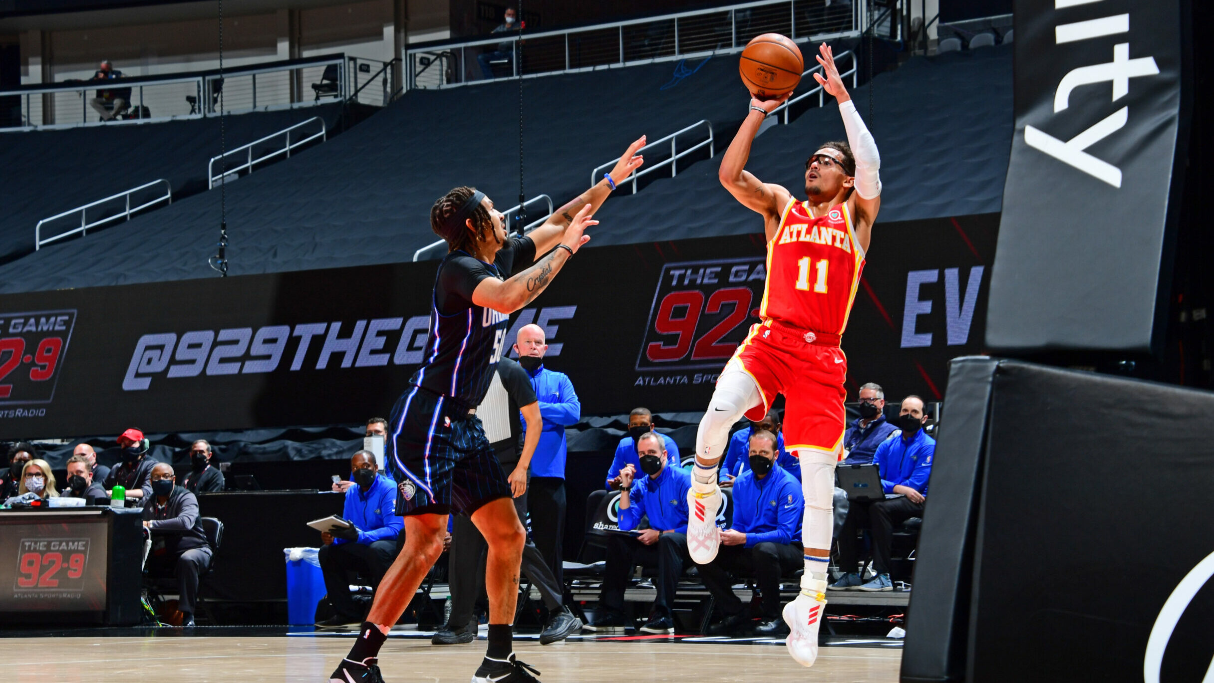 Hawks host Magic, look to keep pace in East