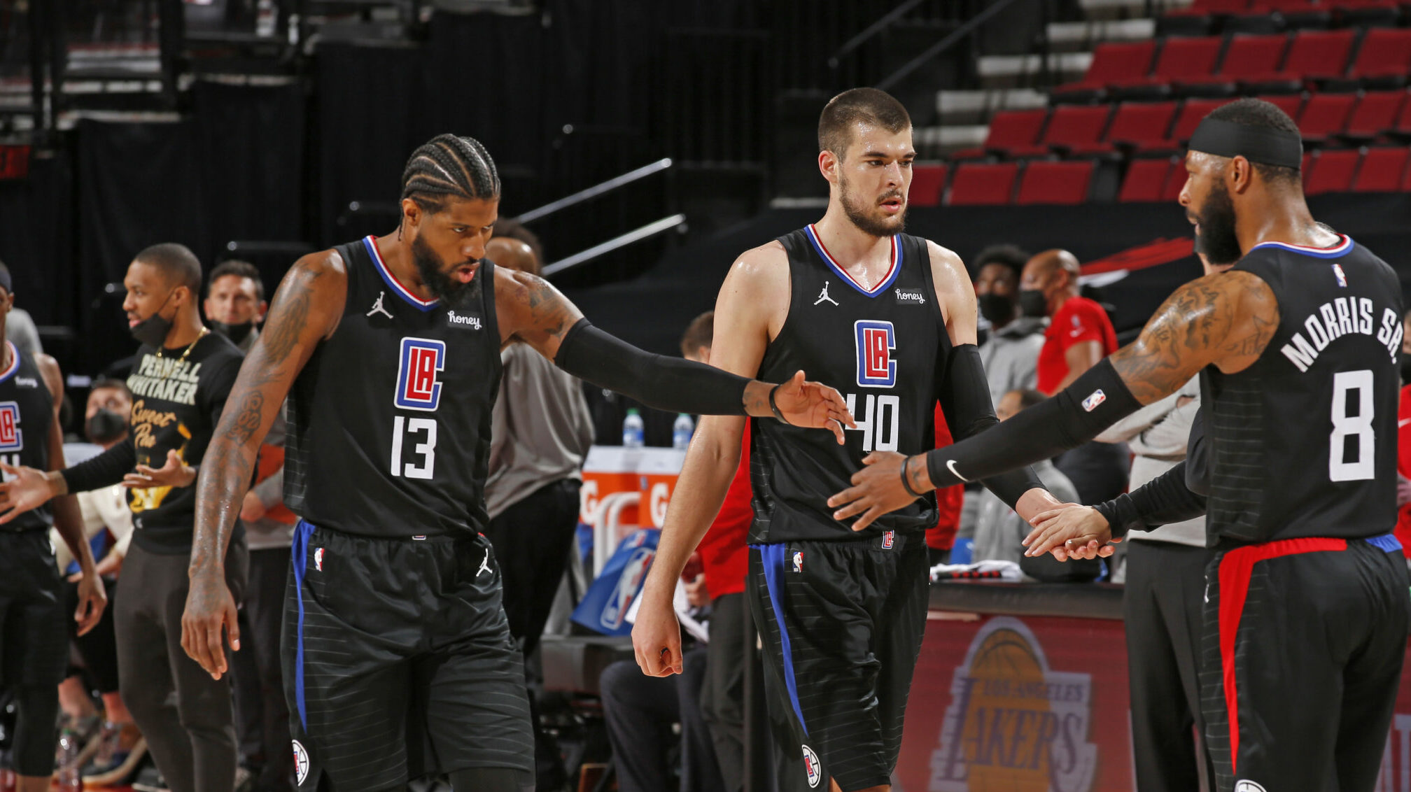 George's late FTs lift red-hot Clippers past Blazers
