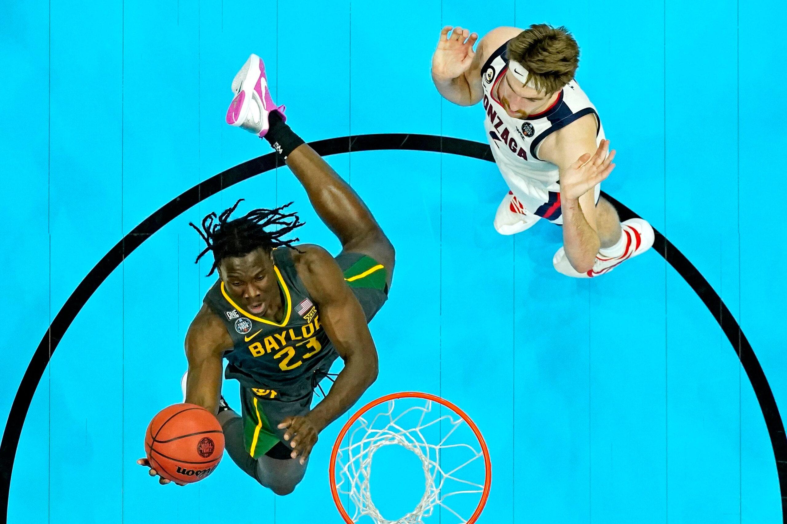 NBA Academies product Jonathan Tchatchoua wins NCAA title with Baylor