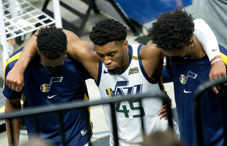 USATSI 15908189 scaled e1618608021102 784x504 - Jazz's Donovan Mitchell suffers right ankle sprain vs. Pacers