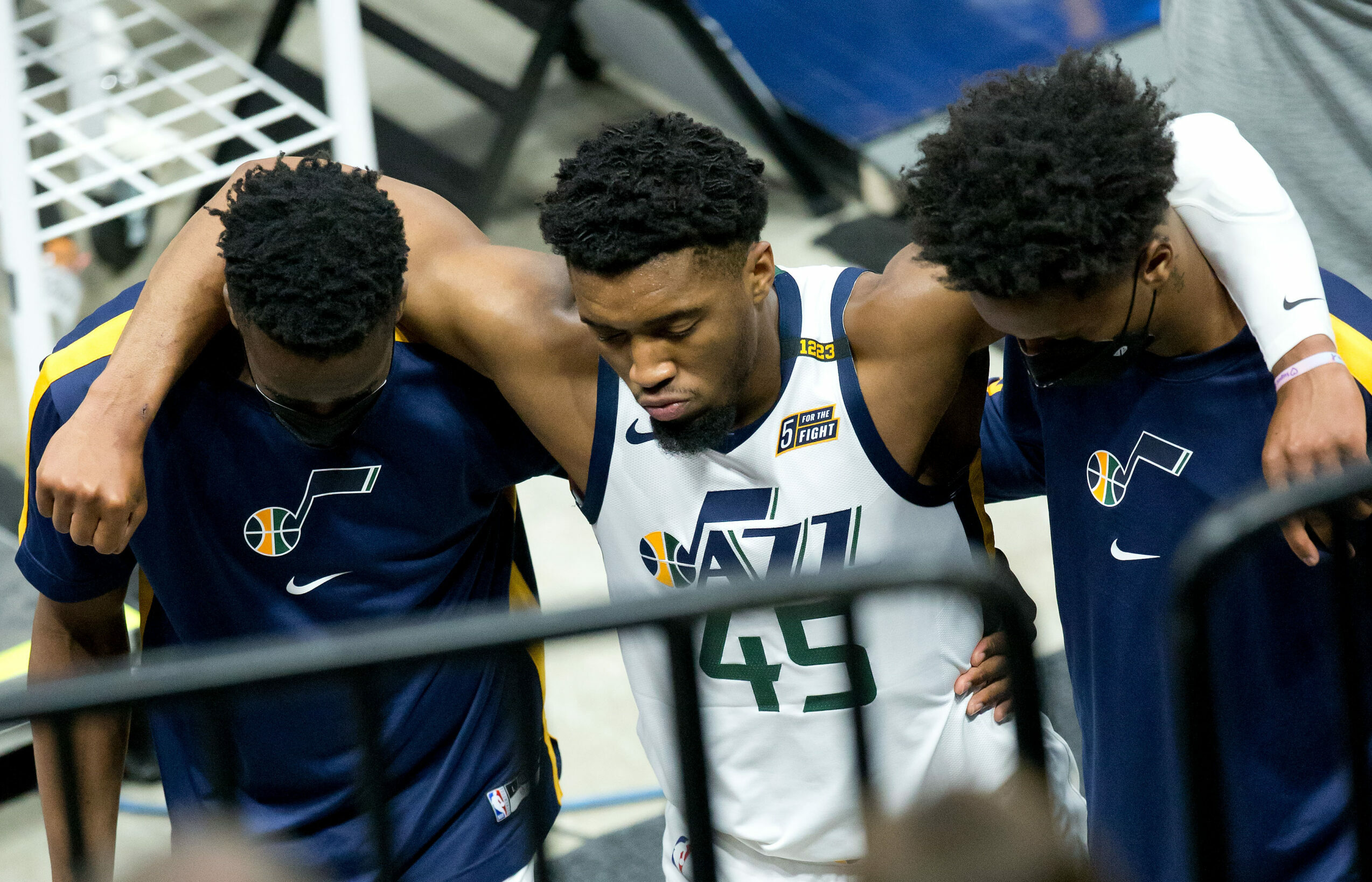 Jazz's Donovan Mitchell out at least one week with 'significant' ankle sprain