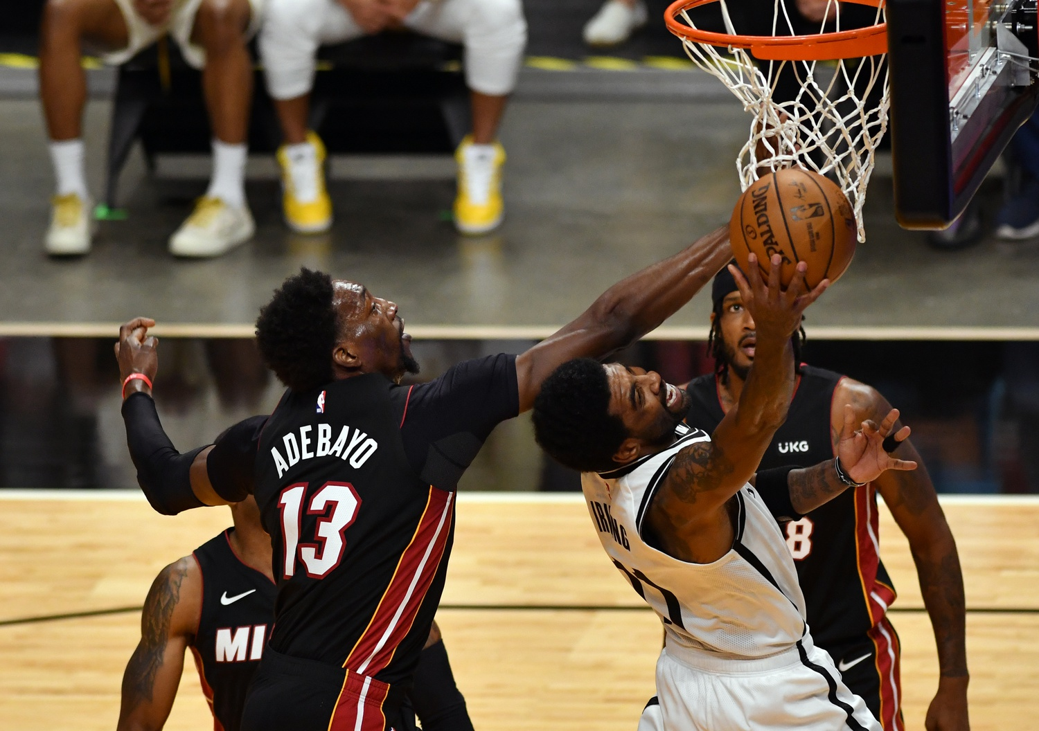 Heat look to slow down Irving and Nets in Miami