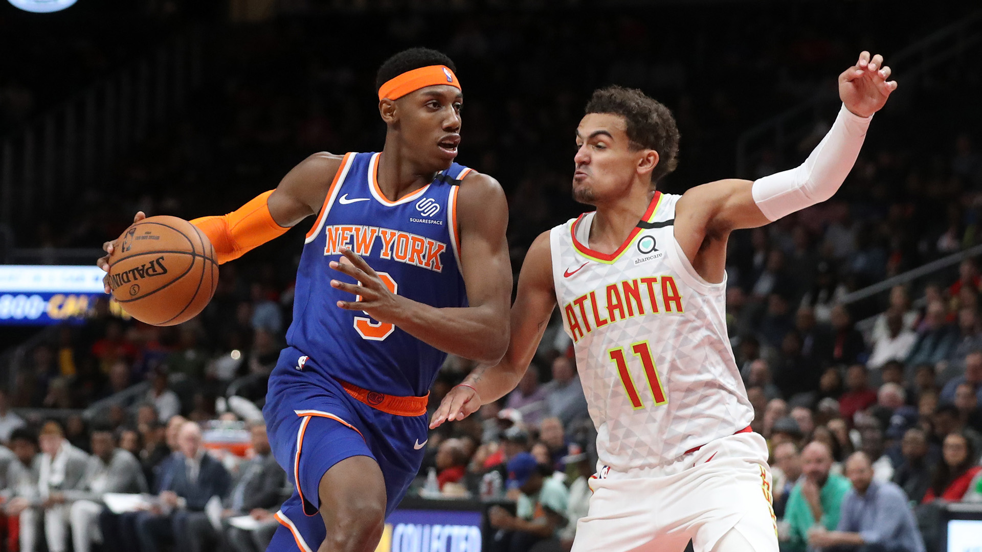 Young, Hawks look to slow down surging Knicks