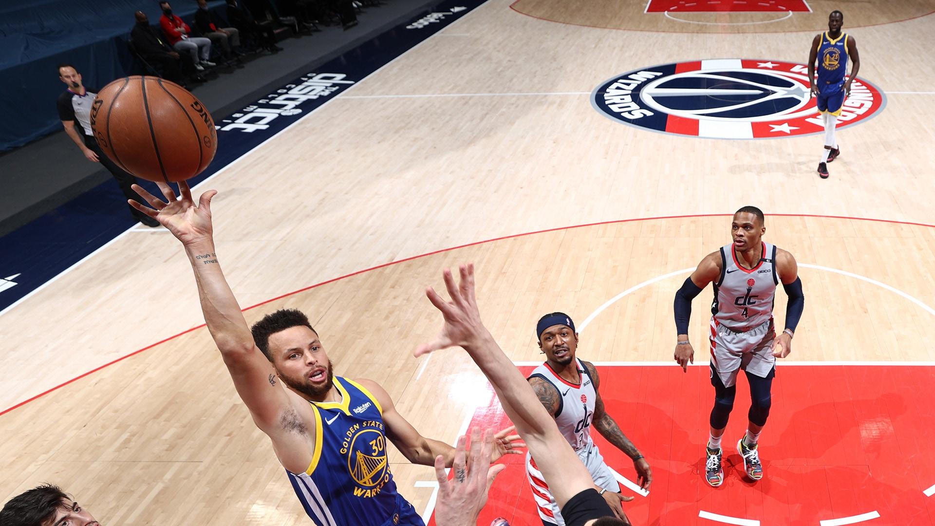 After slow start, Warriors battling back against Wizards