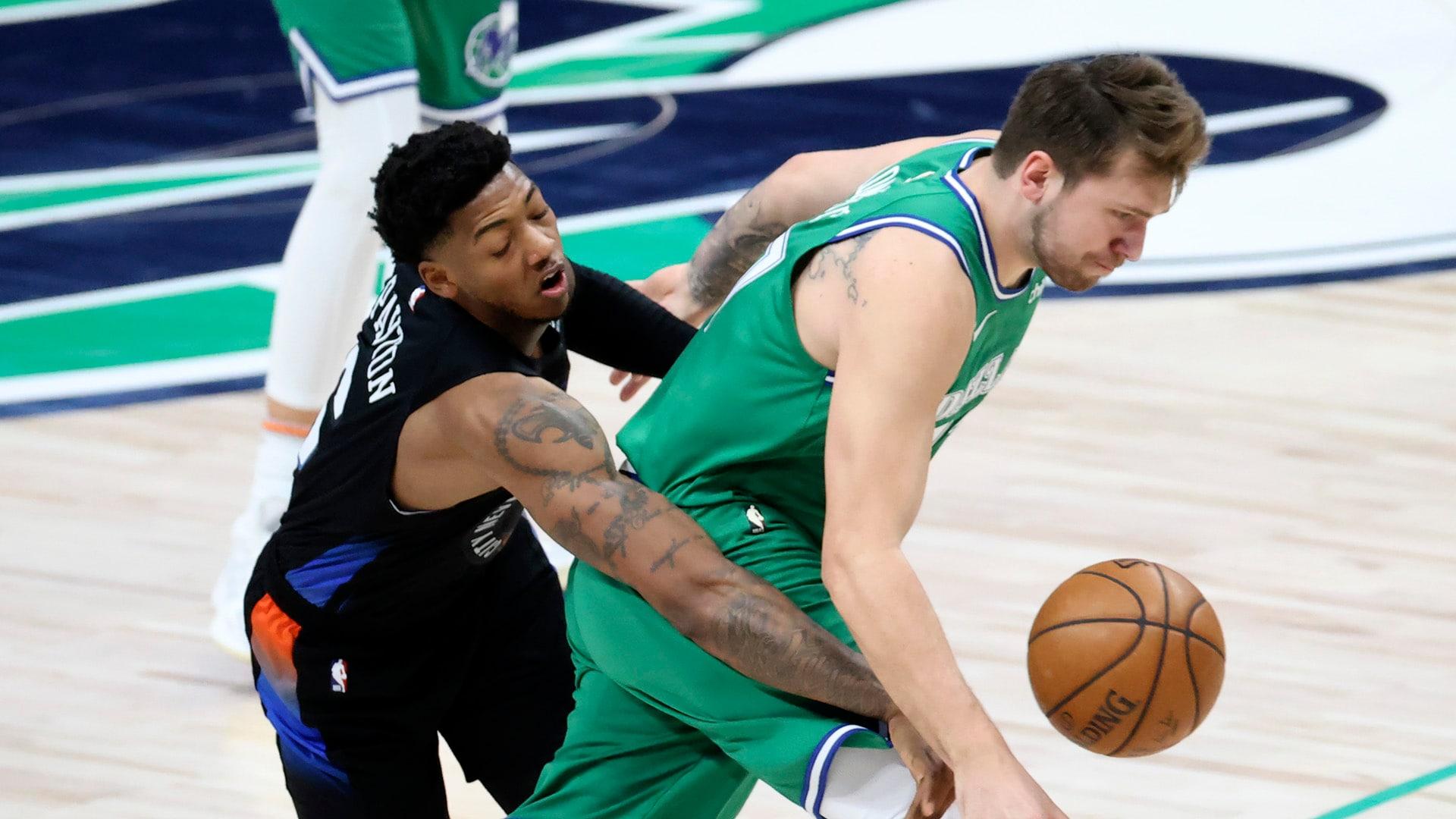 Doncic, Mavericks look to slow down charging Knicks