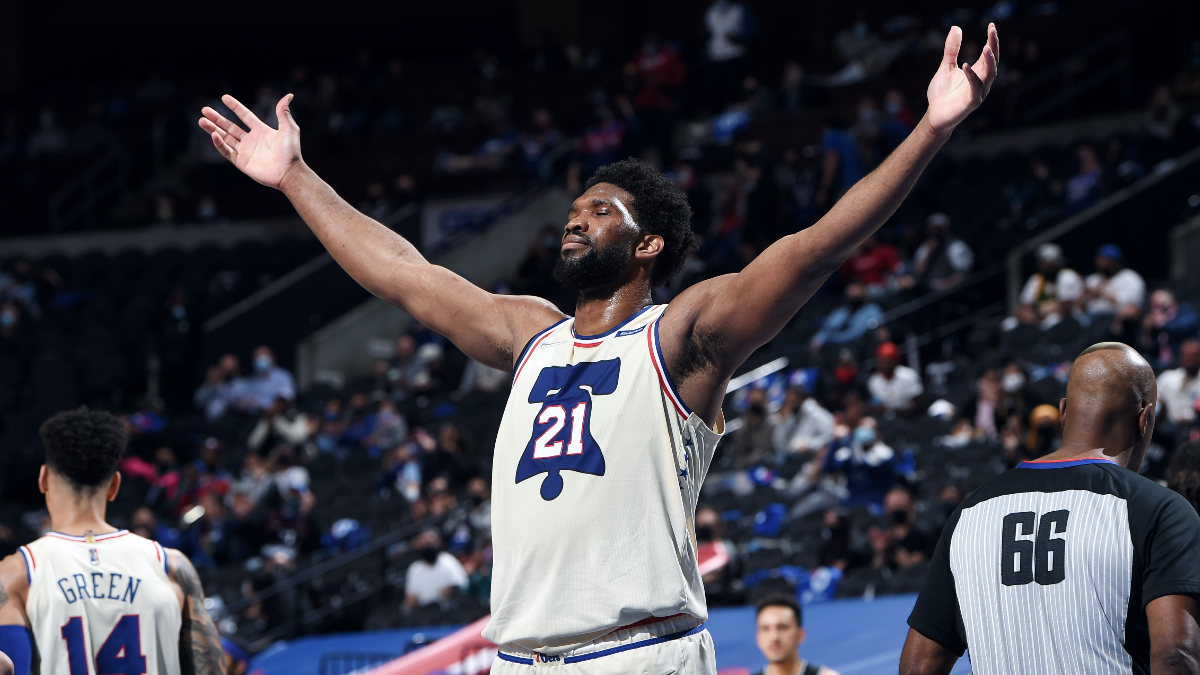 Embiid, Sixers hold off Nets in battle for No. 1 seed