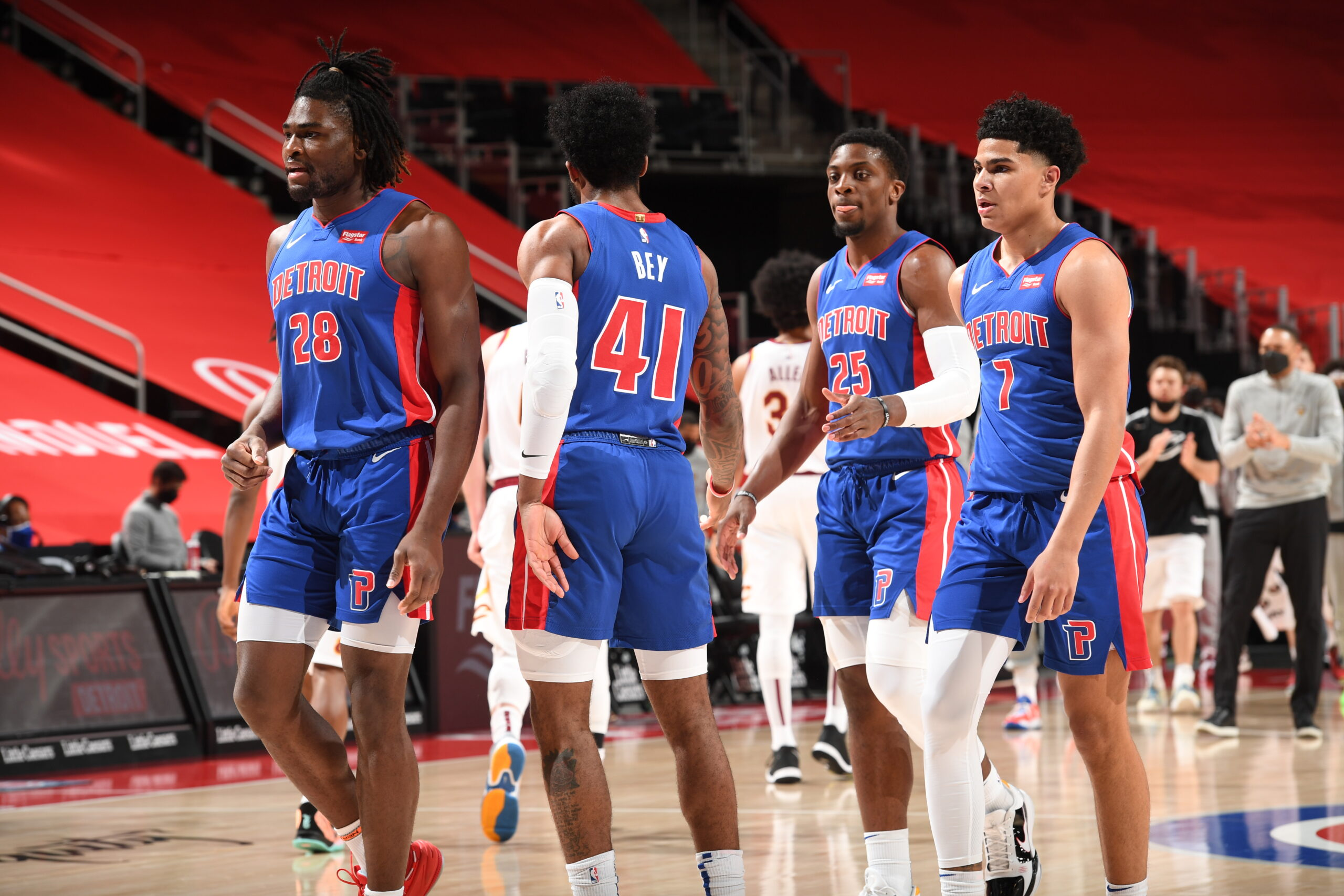 Kia Rookie Ladder: Pistons' young core getting chance to shine