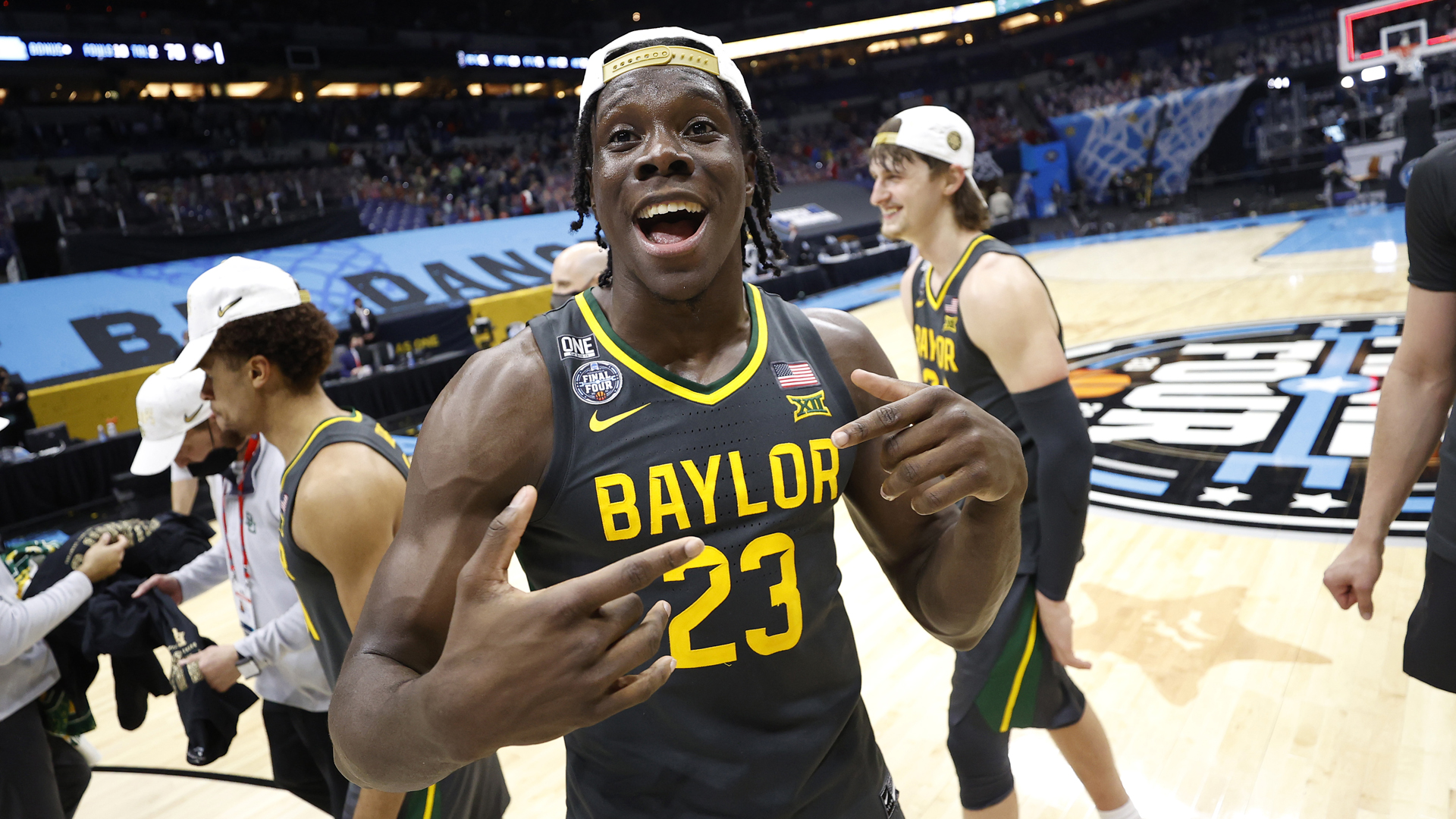 Tchatchoua's interesting trek to a national title at Baylor