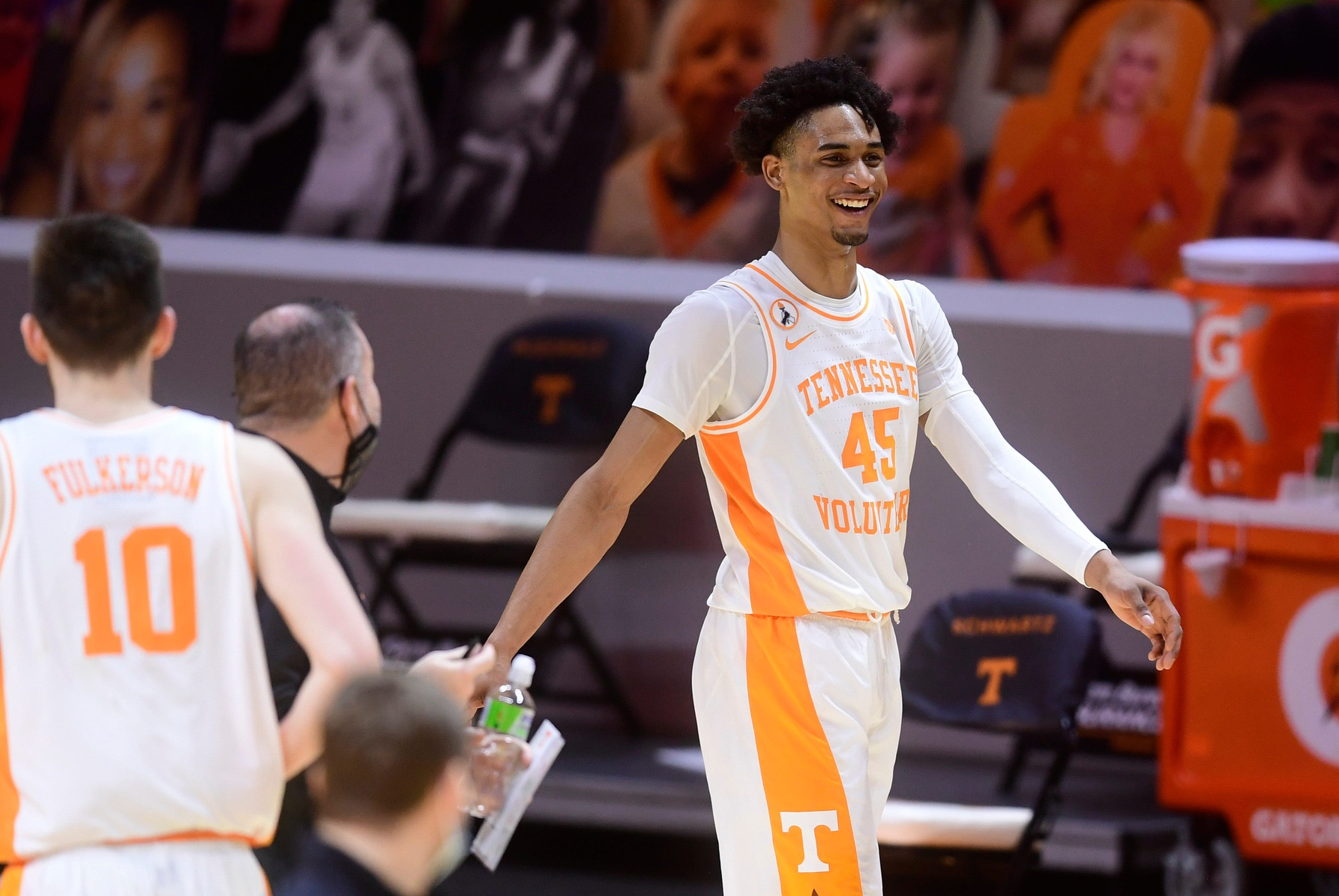 Tennessee freshman Keon Johnson declares for NBA Draft