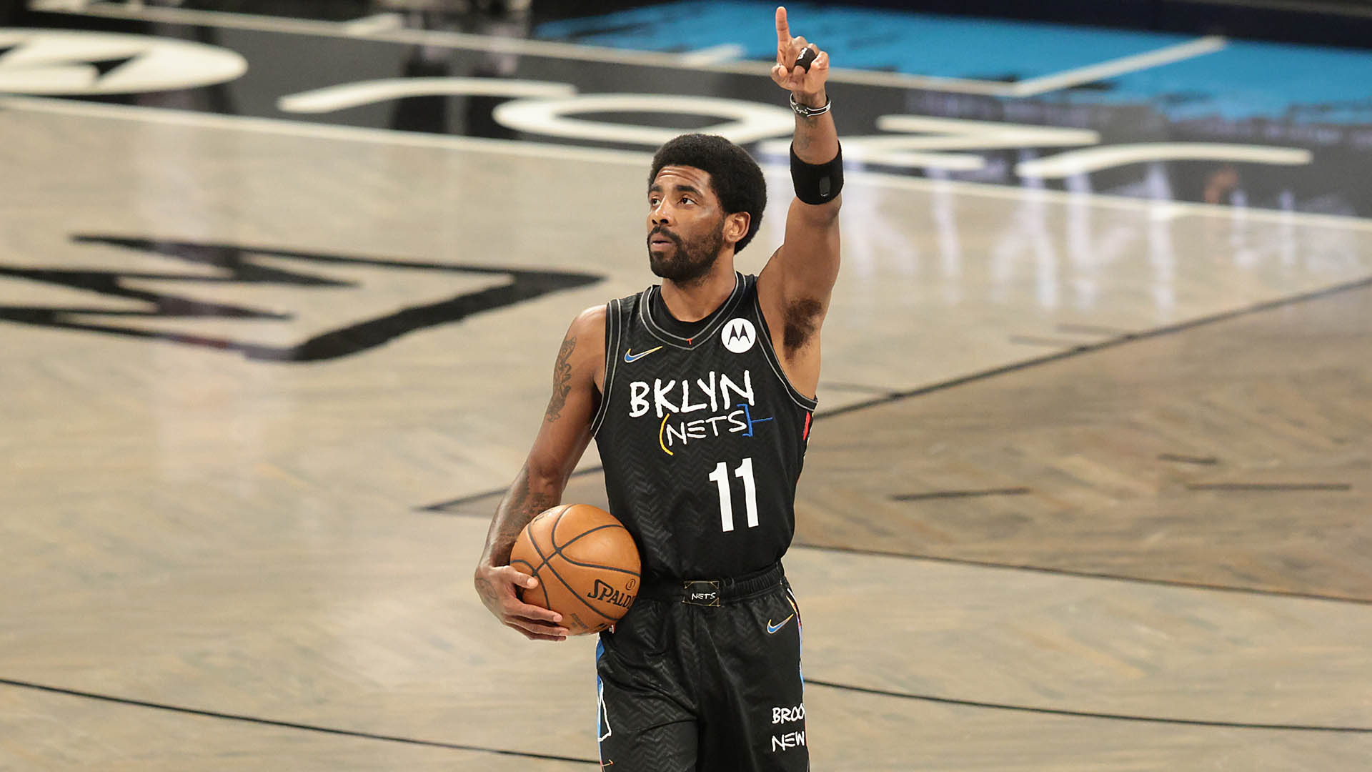 Kyrie Irving a stable force even as Nets' lineups waver