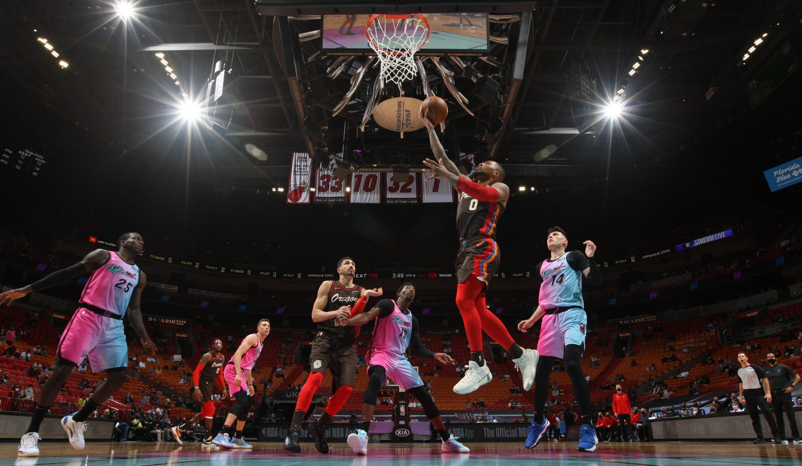 Blazers, Heat both looking to stay out of Play-In zone