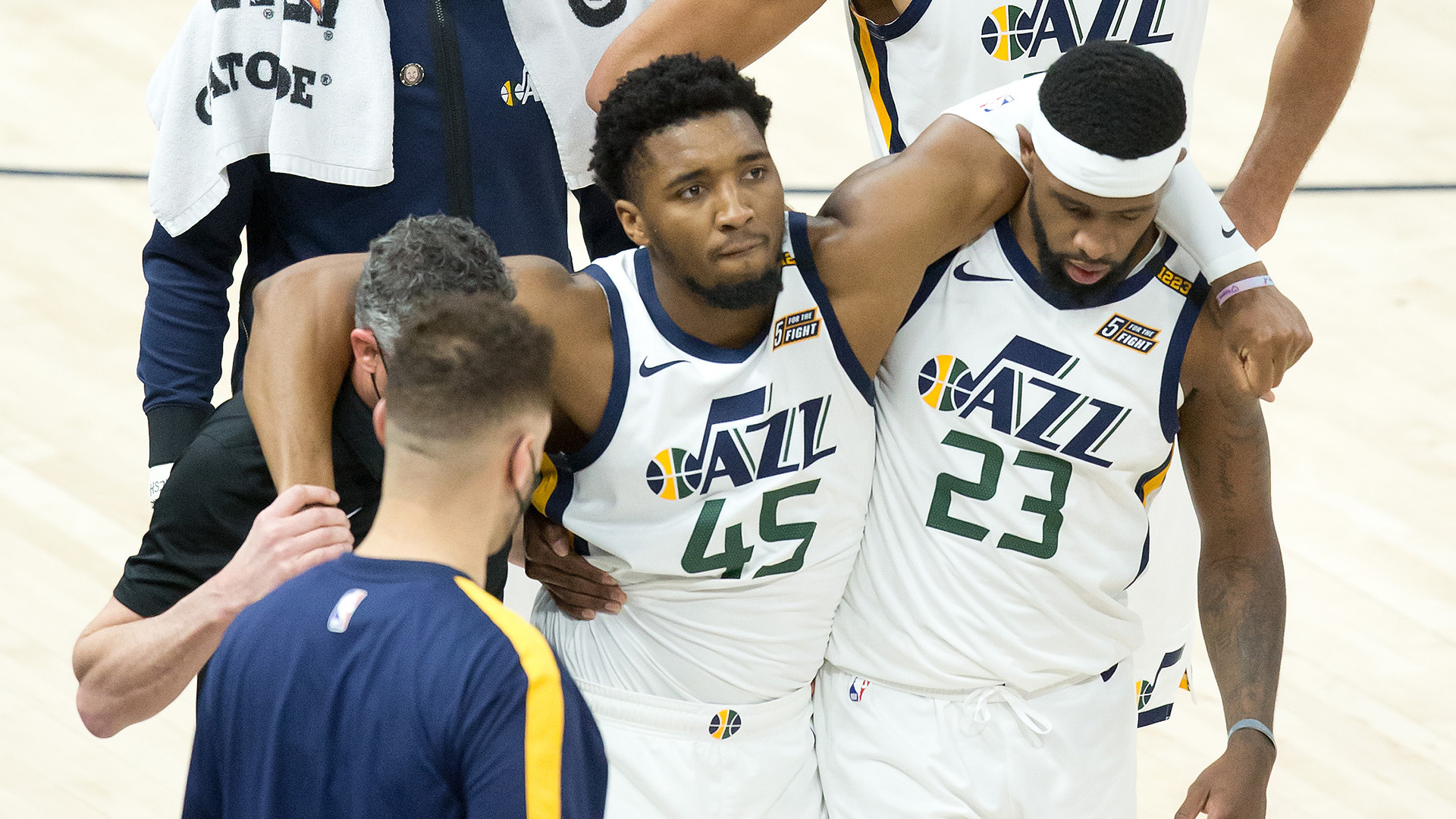 Donovan Mitchell (ankle) to miss Utah's final 3 regular-season games