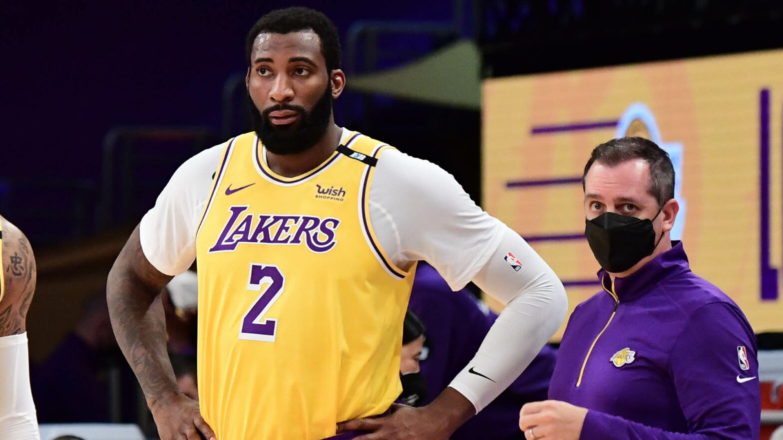 Lakers center Andre Drummond to play vs. Heat | NBA.com