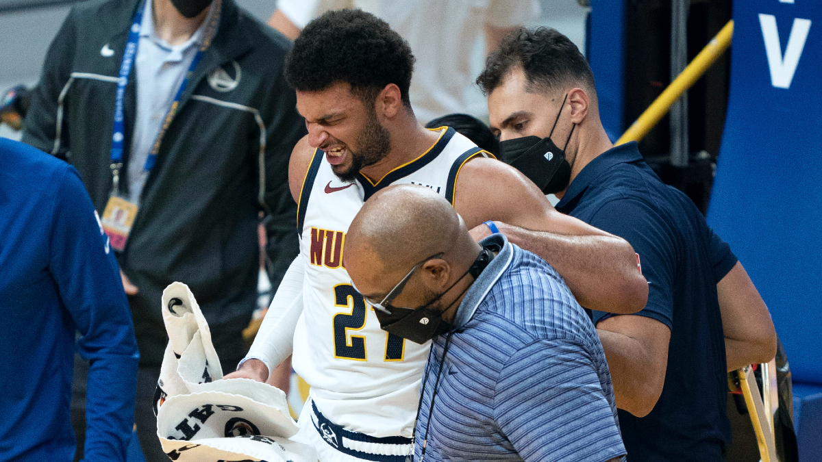 Nuggets guard Jamal Murray remains out indefinitely after knee surgery