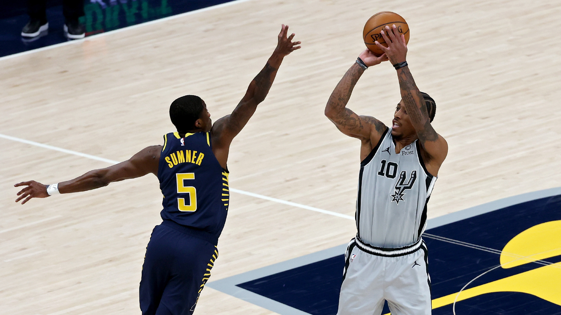 Game Recap: Spurs 109, Pacers 94