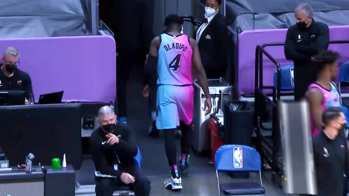 Victor Oladipo to miss Heat's road trip with knee injury