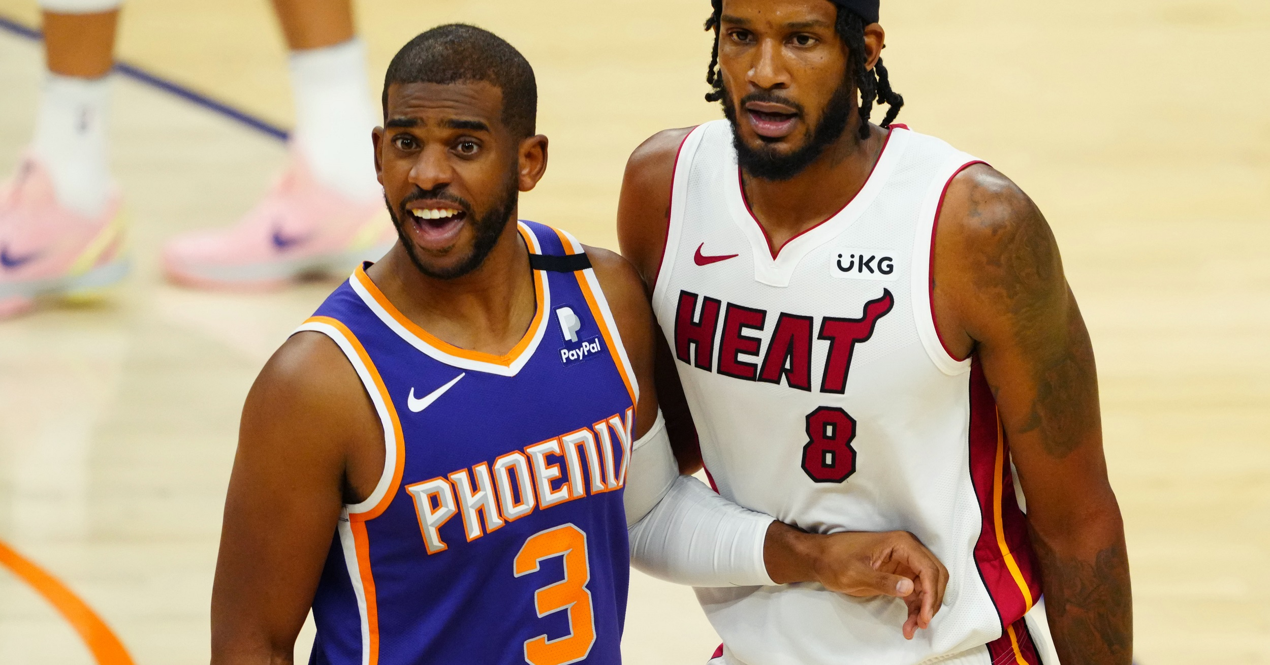 Phoenix Suns guard Chris Paul moves to 5th in career steals