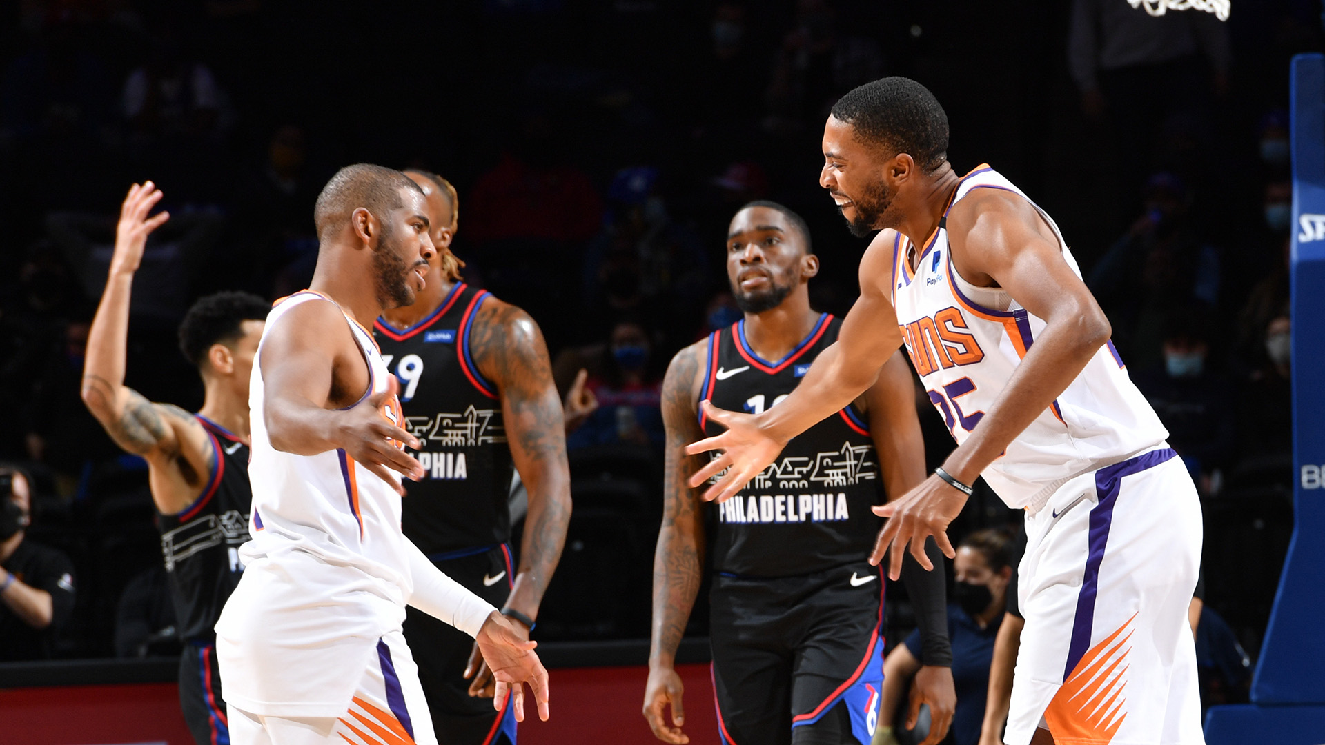 Suns outlast Sixers, spoil Embiid's huge game