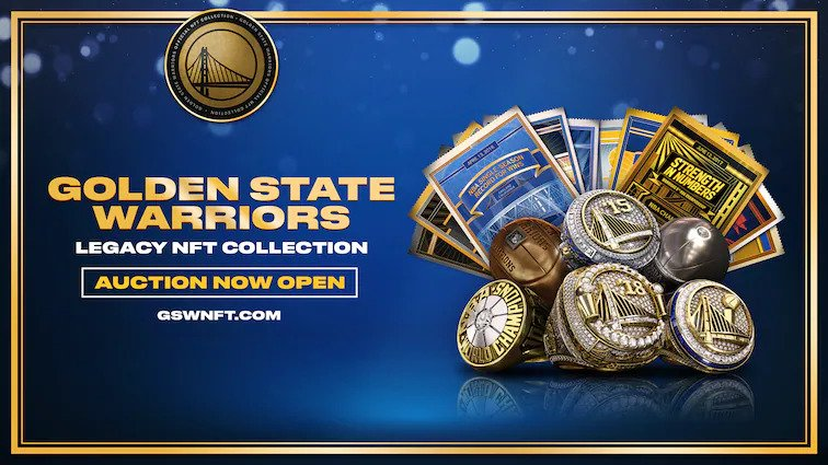 Warriors first pro team to launch own NFT collection