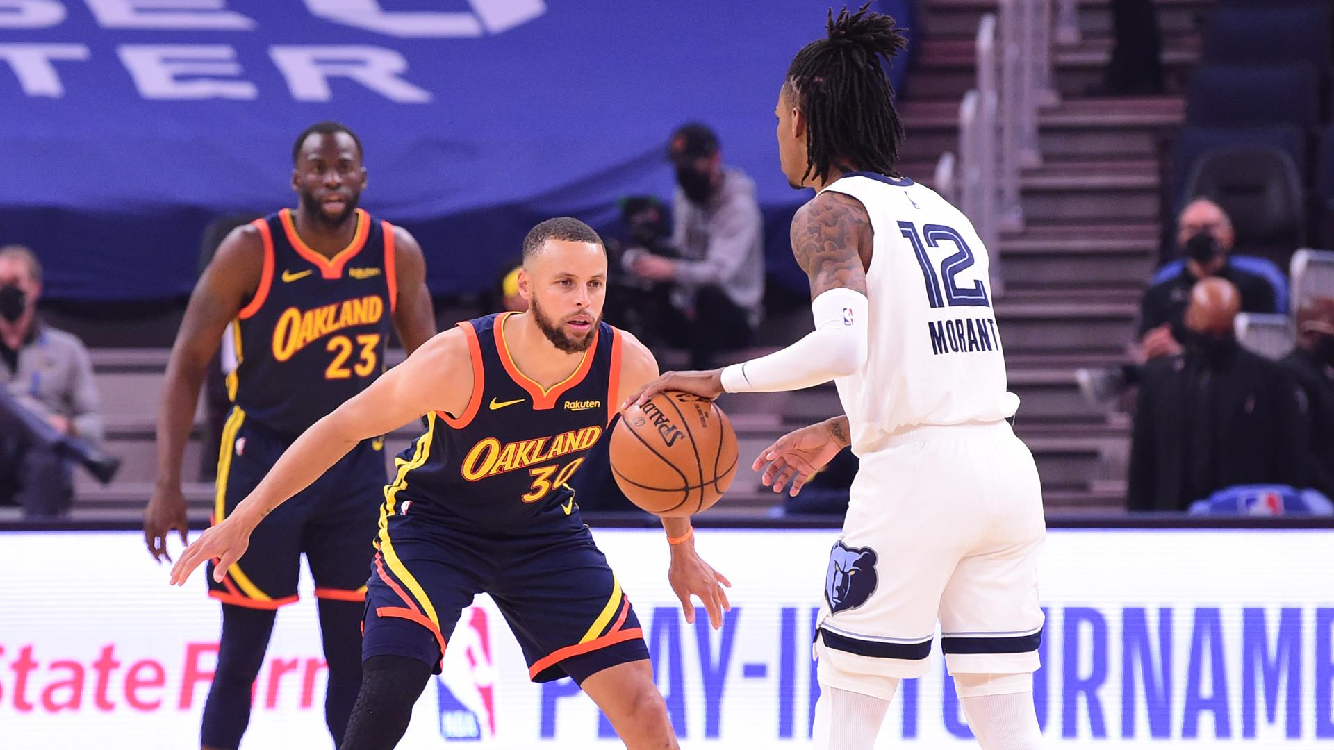 Stephen Curry & Ja Morant duel in Play-In Tournament classic