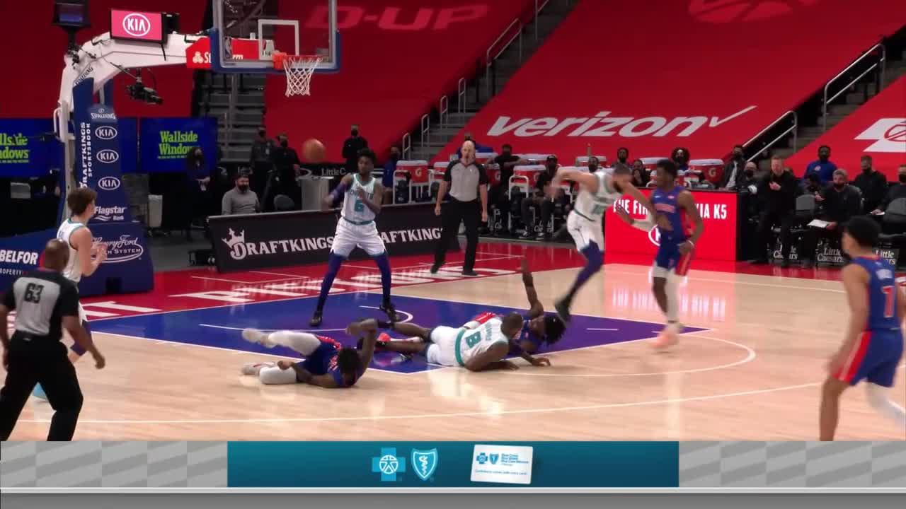 Charlotte Hornets Highlights vs. Detroit Pistons