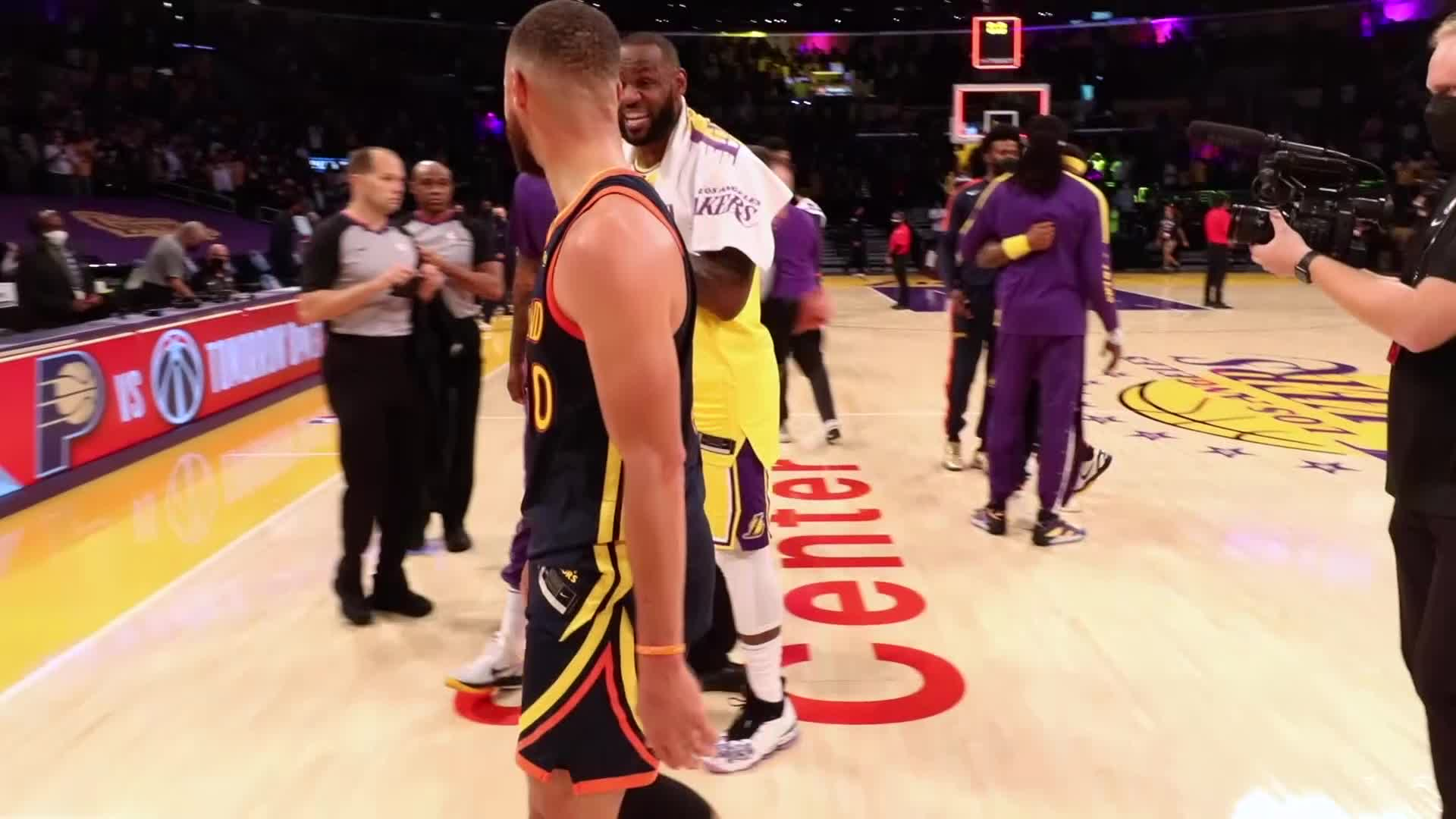 All-Access Play-In Recap: Golden State Warriors vs. Los Angeles Lakers
