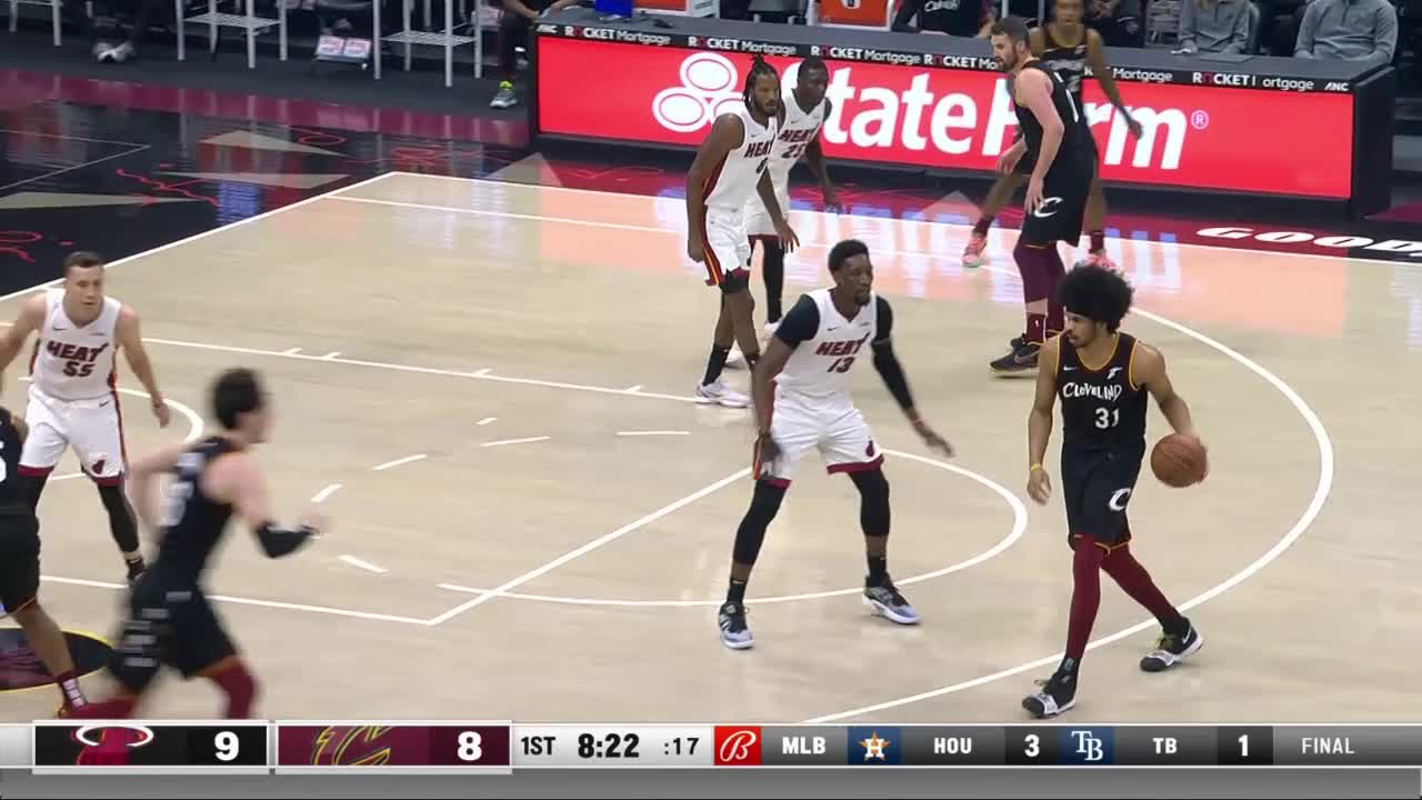Kevin Love with 7 3-pointers vs. Miami Heat